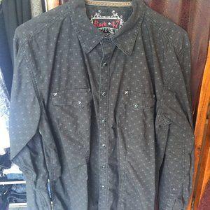 Wrangler Rock 47 Pearl Snap western shirt
